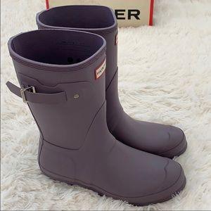 Hunter Original Matte Rain Boots - Size 9